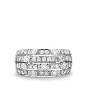 1ct Diamond Platinum 950 Tomas Rae Ring