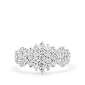 Ratanakiri Zircon Ringin Sterling Silver 1.70cts