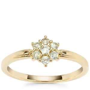 Alexandrite Ring in 9K Gold 0.28ct