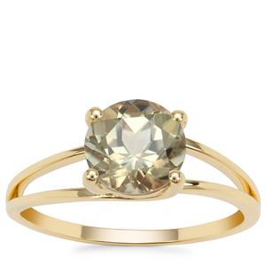 Csarite® Ring in 9K Gold 2.17cts