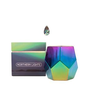 Northern Lights Candle with Abalone Pendant Stone