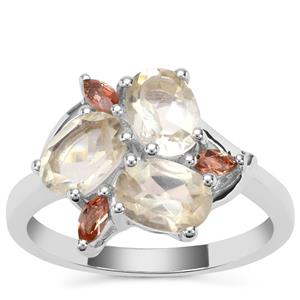 Sunrise Sterling Silver Shades Ring ATGW 2.50cts