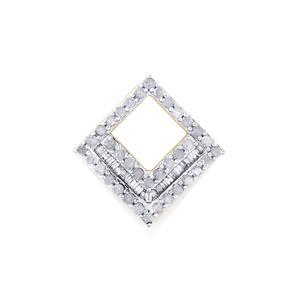 Diamond Pendant in 9K Gold 0.50ct