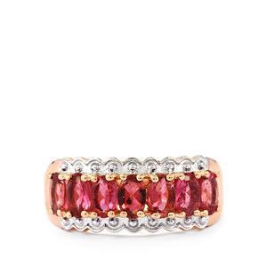 1.75ct Oyo Pink Tourmaline Midas Ring