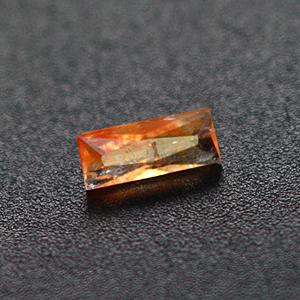 0.42cts Orange Creedite