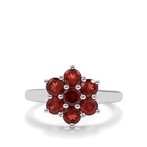2.19ct Octavian Garnet Sterling Silver Ring