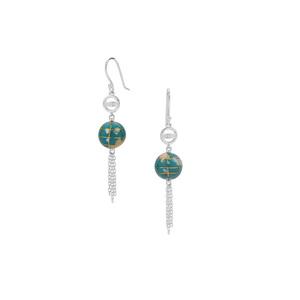 Atlas Earrings in Sterling Silver