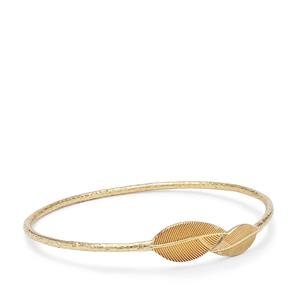 Bangle in Gold Plated Sterling Silver