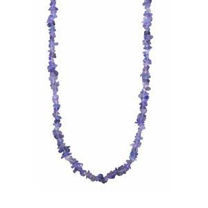 Tanzanite Nugget Bead Necklace 125cts