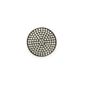 3.61ct White Topaz Sterling Silver Pendant