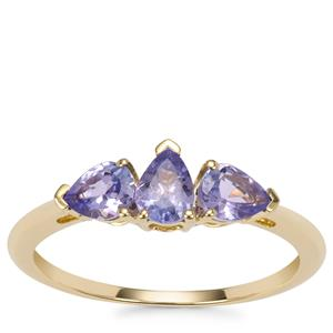Tanzanite Ring in 10K Gold 0.84cts
