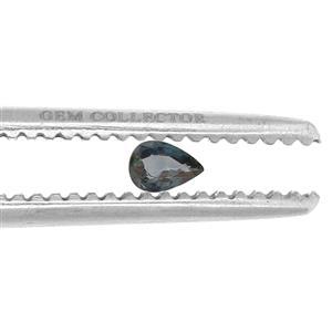 Nigerian Blue Sapphire GC loose stone  0.60ct