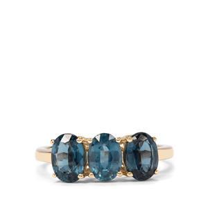 3ct Orissa Kyanite 9K Gold Ring