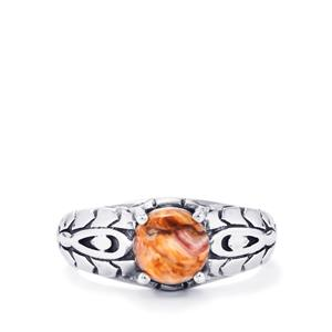 Lion's Paw Shell Ring in Sterling Silver