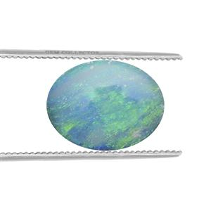 Crystal Opal on Ironstone  1.29cts