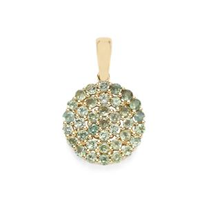 Orissa Alexandrite Pendant in 10k Gold 1ct