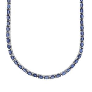 23.82ct Nilamani Sterling Silver Necklace