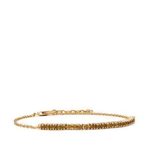 Apache Demantoid Garnet Bracelet in 18K Gold 1cts
