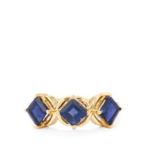 Bengal Iolite Ring in 10k Gold 1.77cts