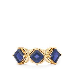 1.77ct Bengal Iolite 9K Gold Ring