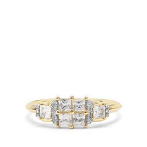 0.84ct Ratanakiri Zircon 9K Gold Ring