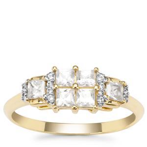 Ratanakiri Zircon Ring in 9K Gold 0.84ct