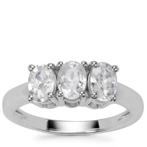 Ratanakiri Zircon Ring in Sterling Silver 2.10cts