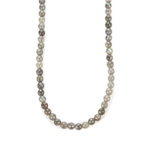 Canadian Labradorite Slider Necklace in Sterling Silver 105.50cts