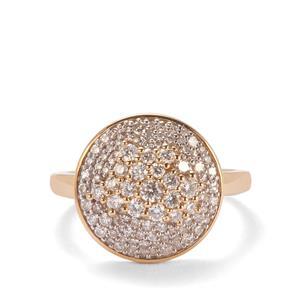 Diamond Ring in 18k Gold 0.76ct