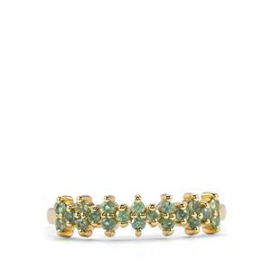 0.40ct Alexandrite 10K Gold Ring
