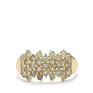 1.17ct Alexandrite 10K Gold Ring