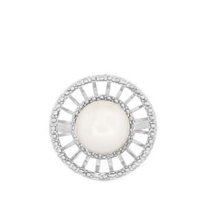 Kaori Cultured Pearl Sterling Silver Ring (10mm)