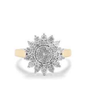 1ct Diamond 10K Gold Tomas Rae Ring