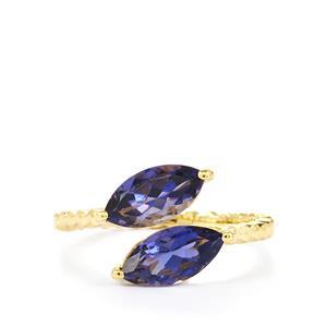 1.56ct Bengal Iolite 9K Gold Ring