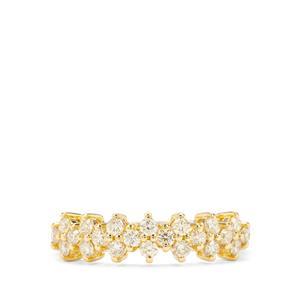1/2ct Yellow Diamond 18K Gold Tomas Rae Ring