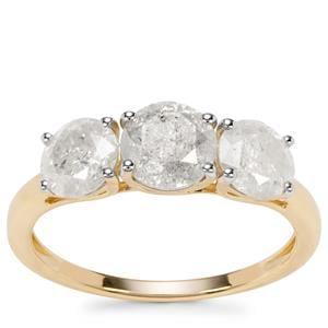Diamond Ring in 9K Gold 2ct