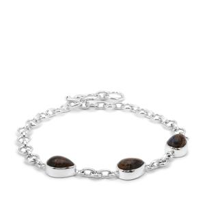 ArizonaPietersite Bracelet in Sterling Silver 9cts