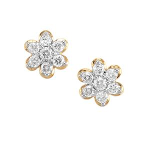 1/4ct Canadian Diamond 18K Gold Tomas Rae Earrings