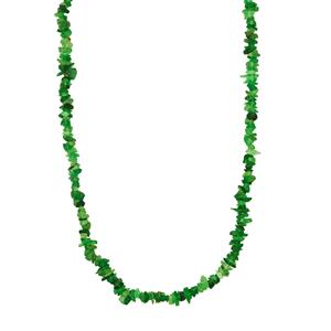 82ct Tsavorite Garnet Nugget Necklace