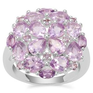 Moroccan Amethyst Ring in Sterling Silver 4.19cts