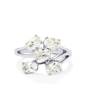 3.27ct Singida Tanzanian Zircon Sterling Silver Ring