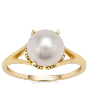South Sea Cultured Pearl Ring in 9K Gold (8MM)