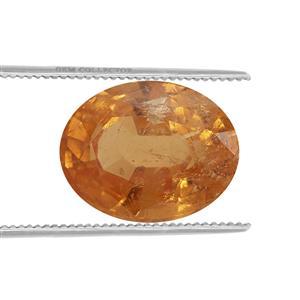 Mandarin Garnet Loose stone  1.15cts