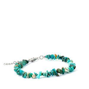 Cochise Turquoise Bracelet in Sterling Silver 34.28cts