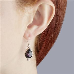 Eudialyte Earrings in Sterling Silver 11cts