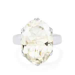 11ct Optic Quartz Sterling Silver Aryonna Ring