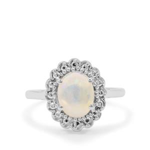 Kelayi Opal Ring in Sterling Silver 1.06cts