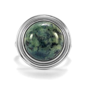 Vivianite Ring in Sterling Silver 9cts