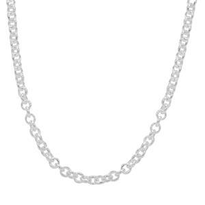 "24"" Sterling Silver Altro Belcher Chain 6.48g"