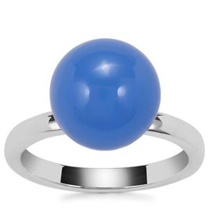 Blue Chalcedony Ring in Sterling Silver 9.42cts